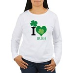 OYOOS Irish Heart design Women's Long Sleeve T-Shi