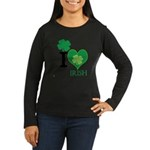 OYOOS Irish Heart design Women's Long Sleeve Dark