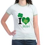 OYOOS Irish Heart design Jr. Ringer T-Shirt