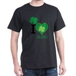 OYOOS Irish Heart design Dark T-Shirt