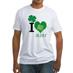 OYOOS Irish Heart design Fitted T-Shirt