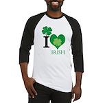 OYOOS Irish Heart design Baseball Jersey
