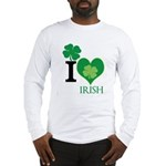 OYOOS Irish Heart design Long Sleeve T-Shirt