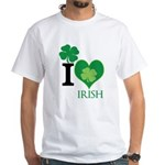 OYOOS Irish Heart design White T-Shirt