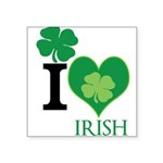 OYOOS Irish Heart design Square Sticker 3