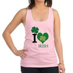 OYOOS Irish Heart design Racerback Tank Top
