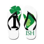 OYOOS Irish Heart design Flip Flops