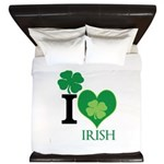 OYOOS Irish Heart design King Duvet
