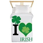 OYOOS Irish Heart design Twin Duvet