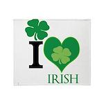 OYOOS Irish Heart design Throw Blanket