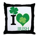 OYOOS Irish Heart design Throw Pillow