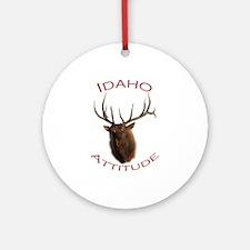 Idaho Attitude Ornament (Round)