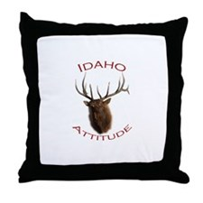 Idaho Attitude Throw Pillow