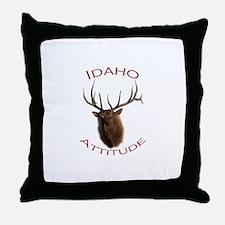 Idaho Attitude Throw Pillow