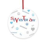 OYOOS SoYesterday design Ornament (Round)