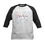 OYOOS SoYesterday design Kids Baseball Jersey