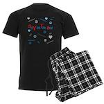 OYOOS SoYesterday design Men's Dark Pajamas