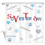 OYOOS SoYesterday design Shower Curtain