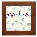 OYOOS SoYesterday design Framed Tile