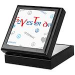 OYOOS SoYesterday design Keepsake Box