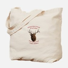 Protective Father Tote Bag