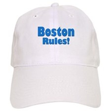 Boston Rules! Baseball Baseball Cap
