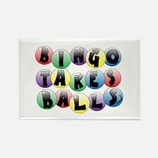 Bingo Balls Rectangle Magnet