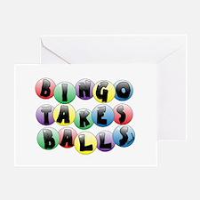 Bingo Balls Greeting Card