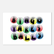 Bingo Balls Postcards (Package of 8)