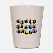 Bingo Balls Shot Glass