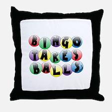 Bingo Balls Throw Pillow