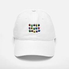 Bingo Balls Baseball Baseball Cap