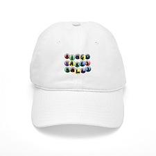 Bingo Balls Baseball Cap