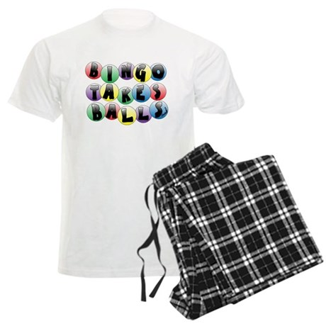 Bingo Balls Men's Light Pajamas