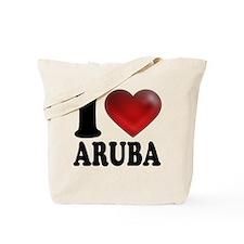 I Heart Aruba Tote Bag