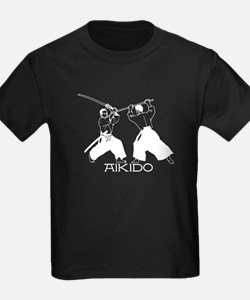 Aikido sword white w/text T