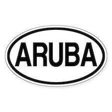 Aruba Bumper Stickers