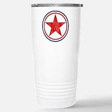 North Korea Roundel Aged.png Travel Mug