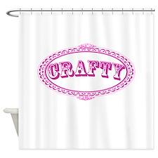 Crafty Girl Shower Curtain