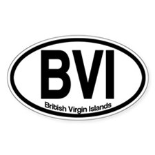 British Virgin Islands Decal