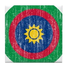 Namibia Roundel Tile Coaster