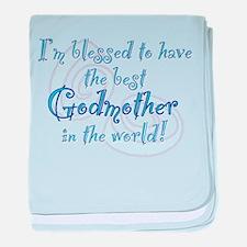 Blessed Godmother BL baby blanket