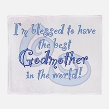 Blessed Godmother BL Throw Blanket
