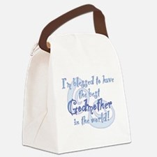 Blessed Godmother BL Canvas Lunch Bag