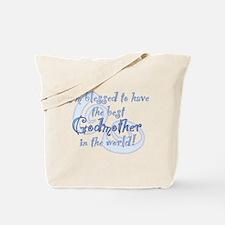 Blessed Godmother BL Tote Bag