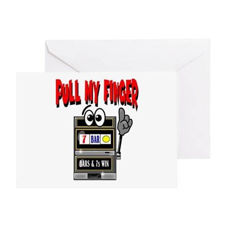 Pull My Finger Greeting Card