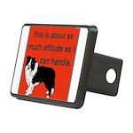 OYOOS Dog Attitude design Rectangular Hitch Cover