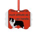 OYOOS Dog Attitude design Picture Ornament