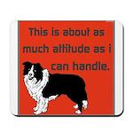 OYOOS Dog Attitude design Mousepad