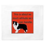OYOOS Dog Attitude design King Duvet